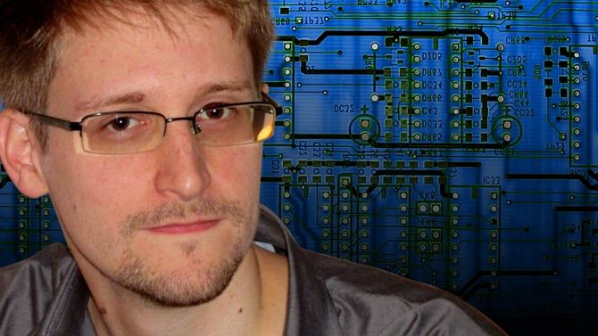 What was Edward Snowden doing in India?