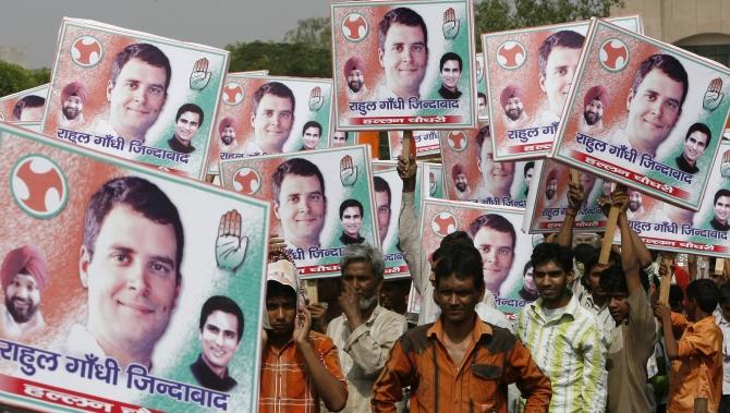 The spirit of young Congress cadres has taken a beating after the party's poor performance in the assembly polls