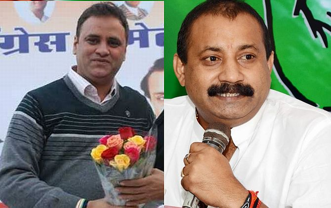 Congress leaders Arun Yadav and Ashok Choudhary head the state units of Madhya Pradesh and Bihar respectively