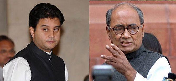 'Kamal Nath, Digvijaya Singh and Jyotiraditya Scindia have destroyed the party in Madhya Pradesh'