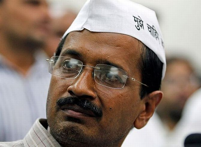 Kejriwal interview: Won't spare Cong in graft cases; can contest LS polls