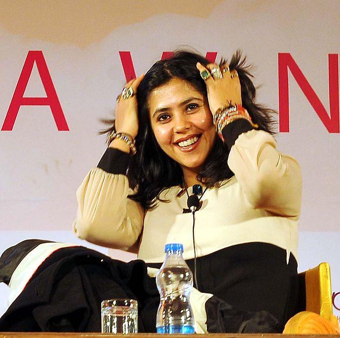 'Rajputs' target Ekta Kapoor at Jaipur Lit Fest