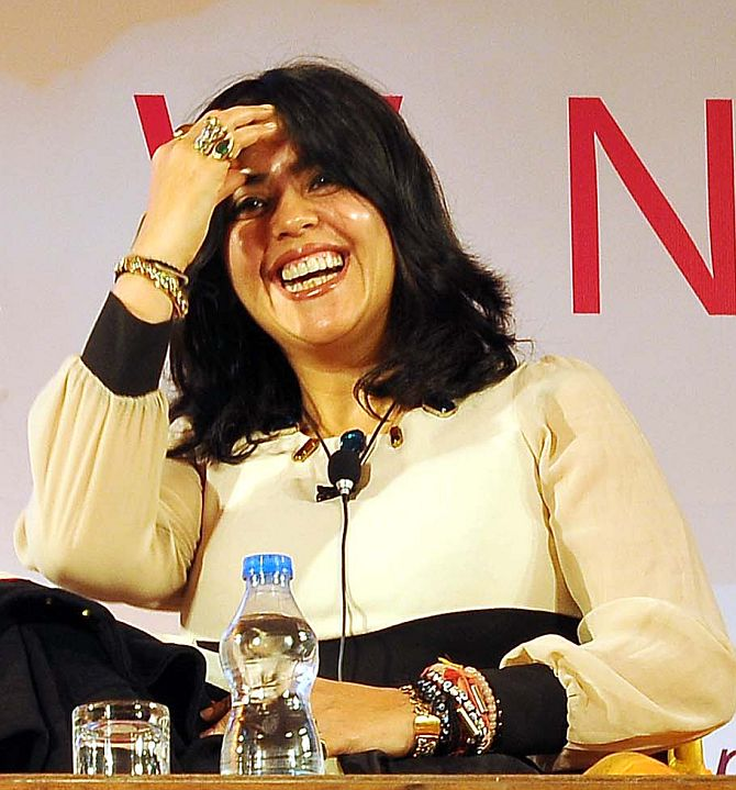 Producer Ekta Kapoor at the Jaipur Literature Festival