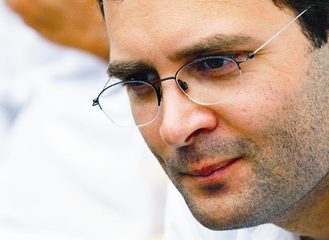 'A Congress government will be headed by Rahul Gandhi'