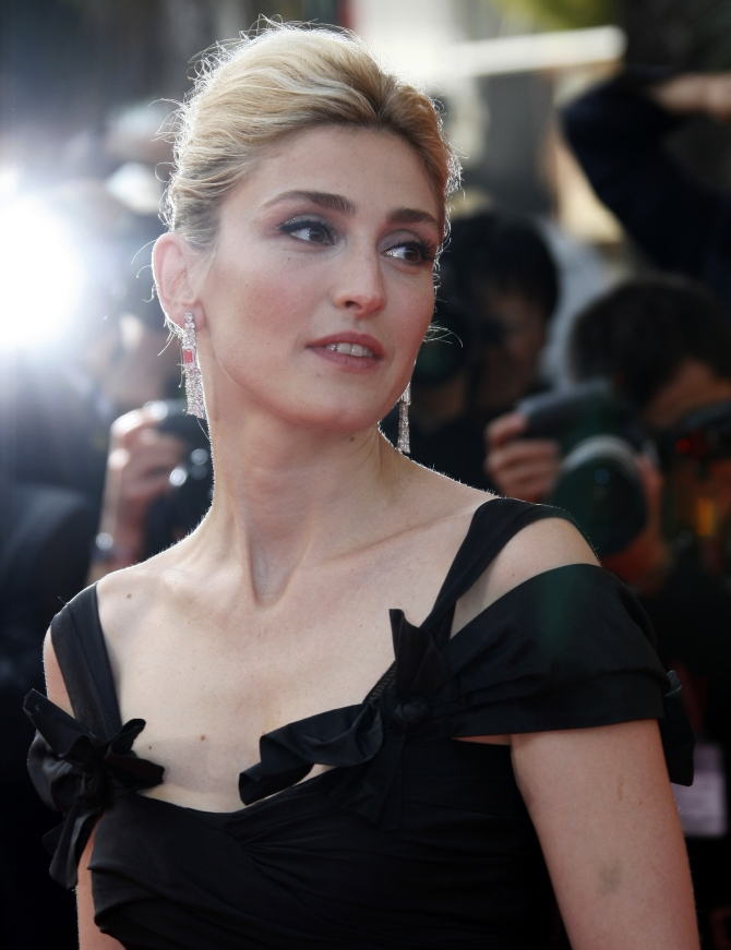 Hollande is reportedly having an affair with actress Julie Gayet