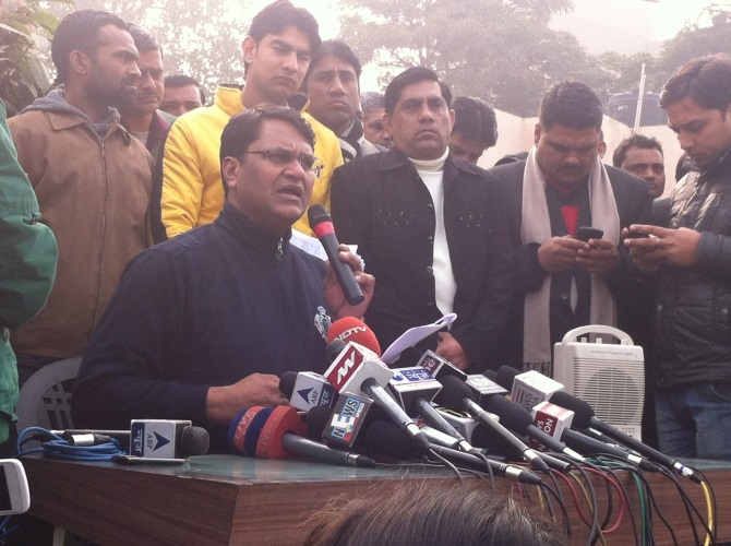 Vinod Kumar Binny has been expelled from the party