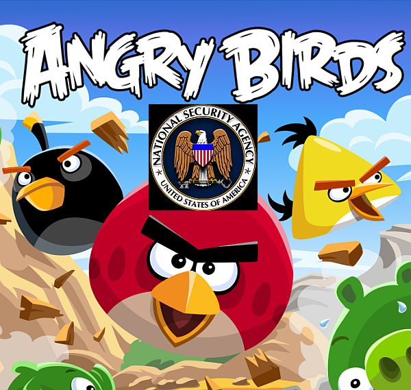 You have been spied upon via Angry Birds, Facebook