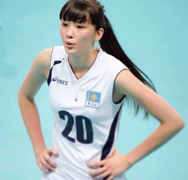 Kazakh teen volleyball player slammed by critics for being 'too beautiful'