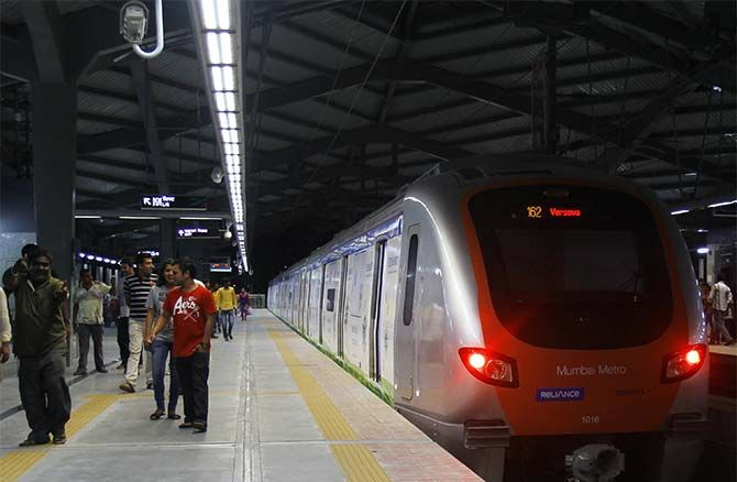 Mumbai Metro was inaugurated earlier in June.