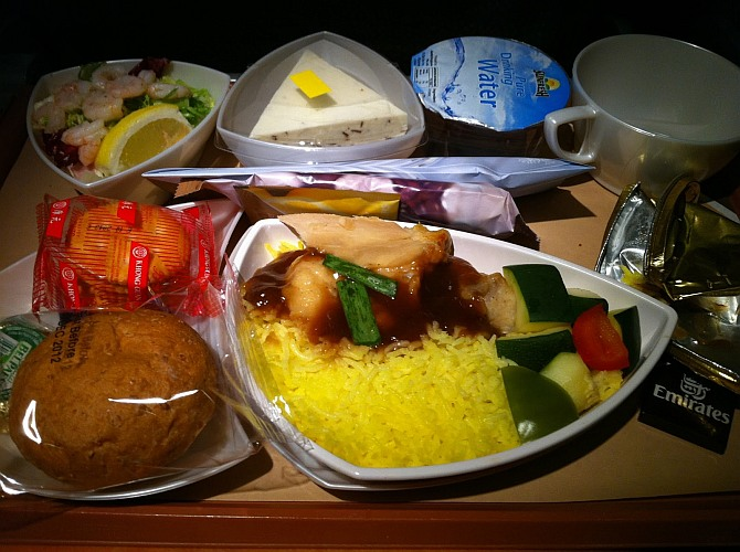 MYTH BUSTED: Airline food is stale, soggy