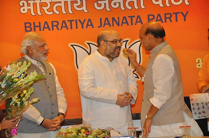 Amit Shah is BJP's new president