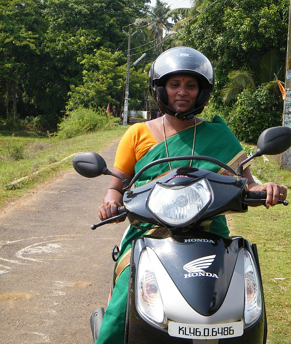 The Kudumbashree initiative has turned around the lives of lakhs of women in Kerala like Bindu, pictured above, who once could not afford even one meal a day.