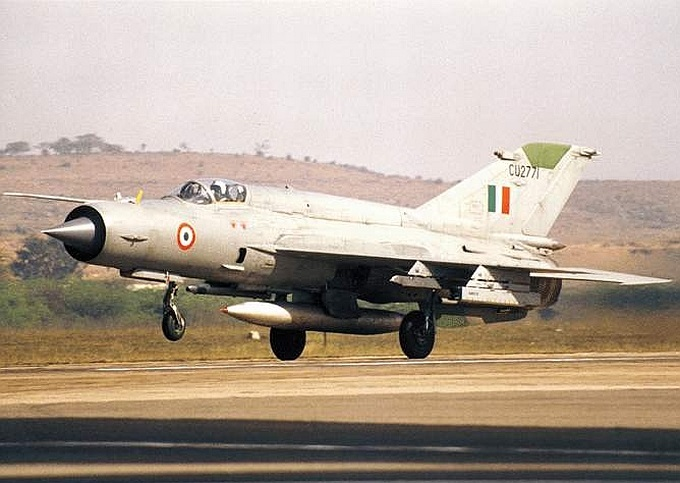 Indian Air Forces MiG 21 Fighter Jet