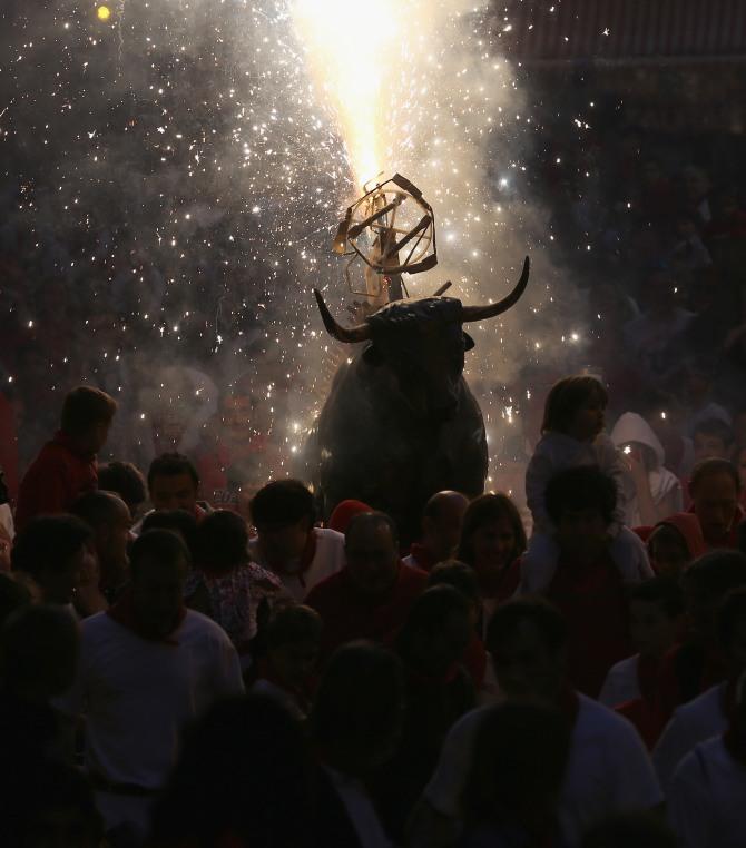 San Fermin festival: 10 stunning PHOTOS