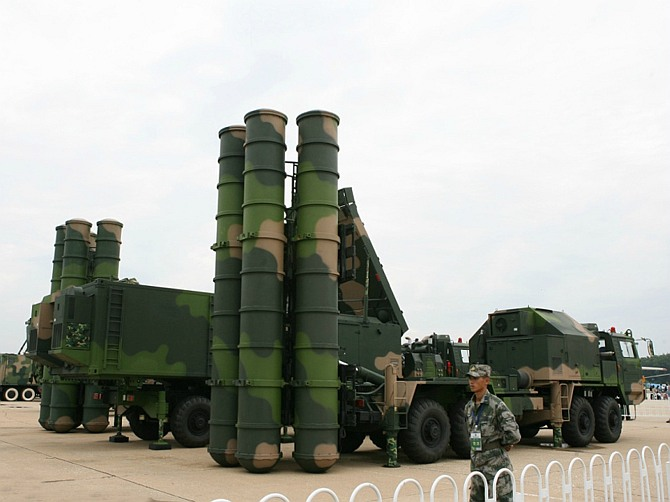 HQ-9 air-defence missile