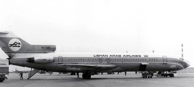 Libyan Arab Airlines 114