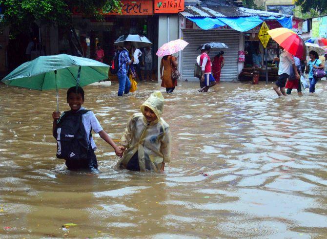 PHOTOS: In Mumbai, it's pouring FUN