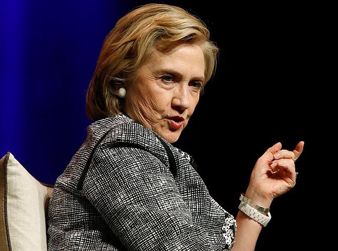 Vladimir Putin has gone too far: Hillary Clinton