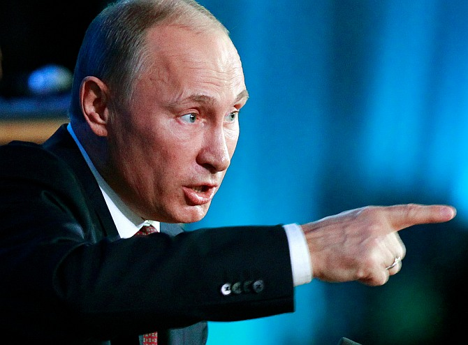 Such things are absolutely unacceptable: Russian President