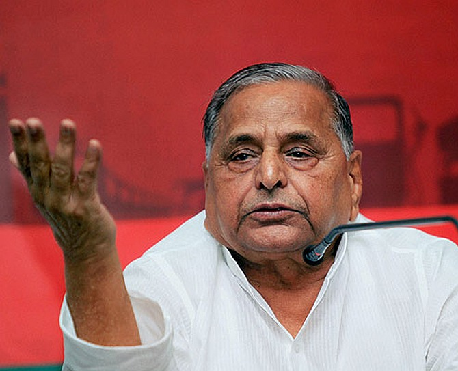 Mulayam believes UP has lowest number of rapes