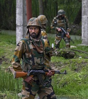 Army personnel in J&K