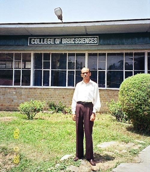 Professor Navneet Kumar Gupta.