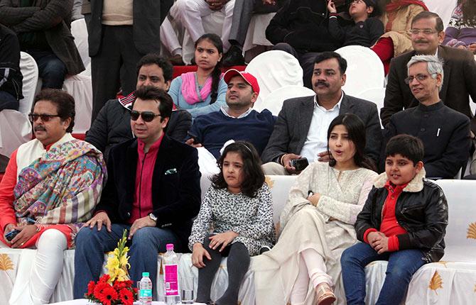 Aditi, Arjun and Tina Yadav