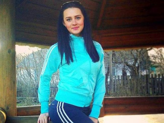 Ekaterina Parkhomenko has since deleted posts from her social media accounts