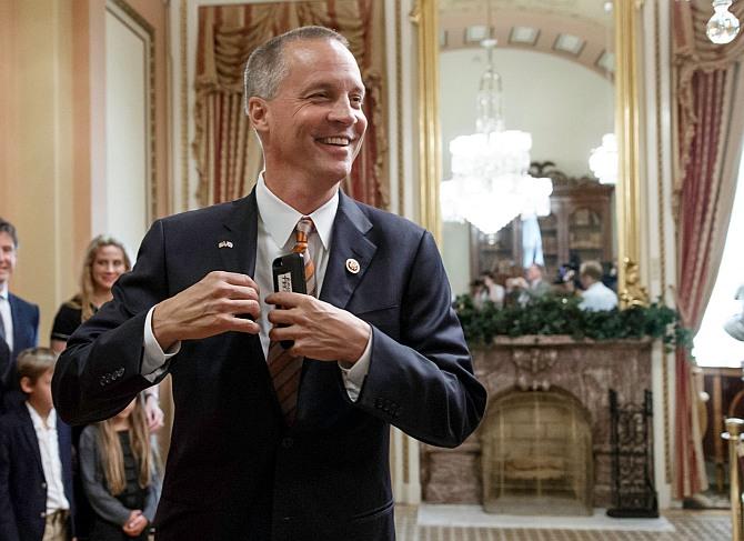 US Congressman Curt Clawson