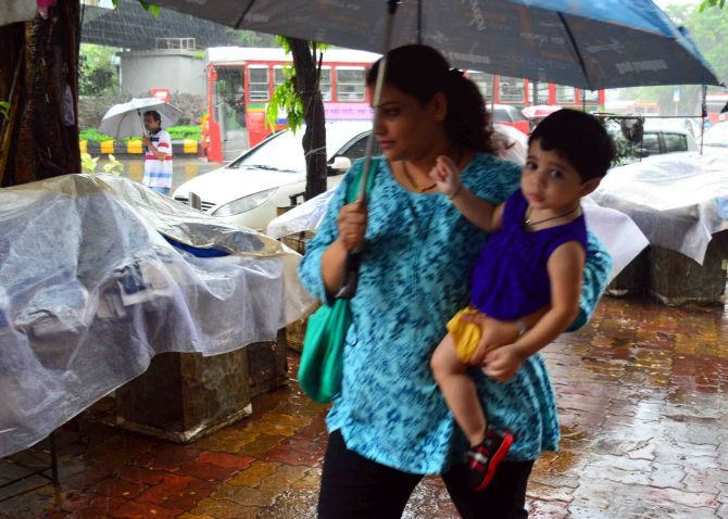 PHOTOS: In Mumbai, when it rains, it pours!