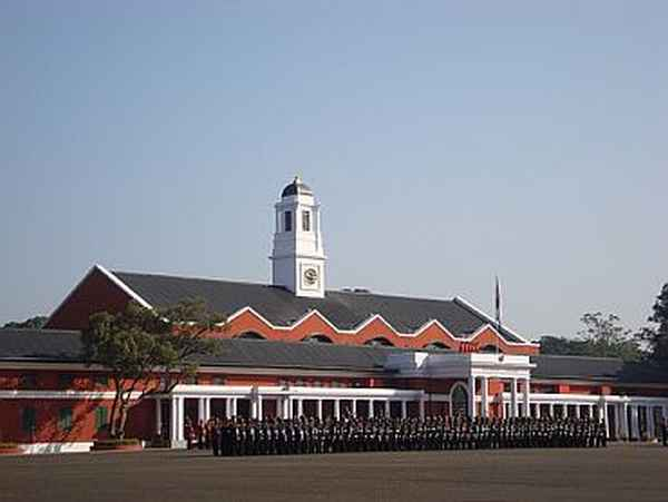 4. Instructed at the Indian Military Academy