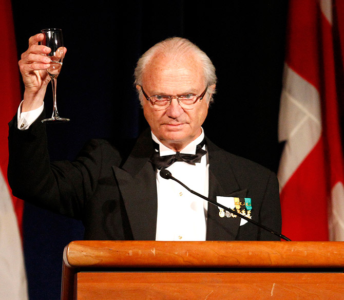 Sweden's King Carl XVI Gustaf