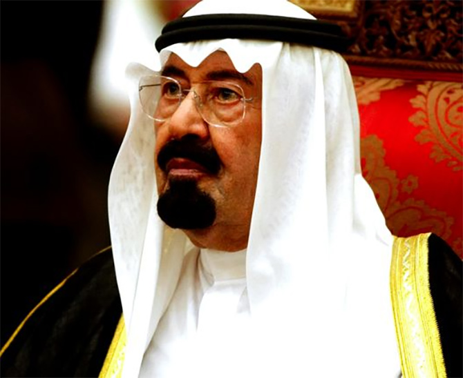 King Abdullah bin Abdul'aziz