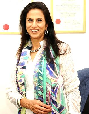 Author-columnist Shobhaa De