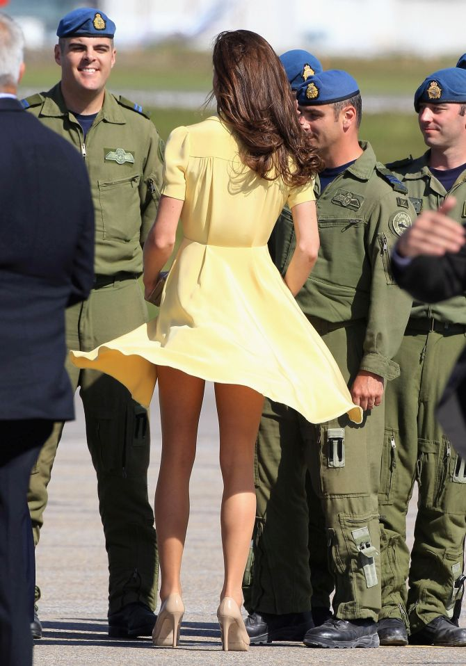 Duchess of Cambridge hires a bum guard