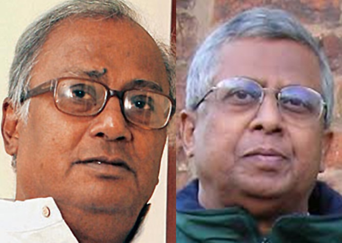 Tathagata Roy (BJP) and Saugata Roy (TMC)