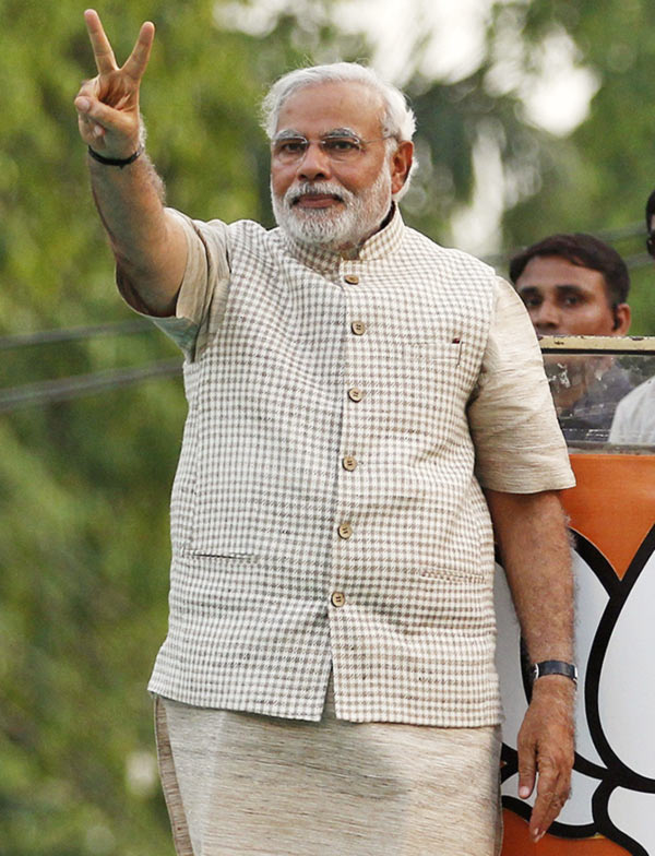 Narendra Modi's Modi kurta has become something of a trend.