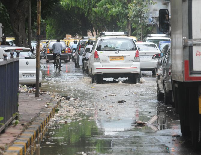 PHOTOS: It hasn't rained but Mumbai's already flooded