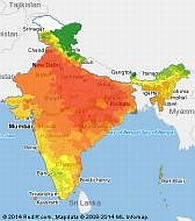June 12 weather map: How hot will your city get? - Rediff ... India Weather Map on india reference map, india climate map, india neighborhood map, india population growth map, india rain map, india overpopulation map, india geography map, india electricity map, india flood map, india main cities map, india seasons map, india europe map, india temperature map, india landscape map, india clothing map, india town map, india education map, india pollution map, india agriculture map, india monsoon map,