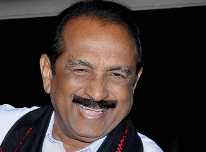 It's a threat to national integrity: Vaiko