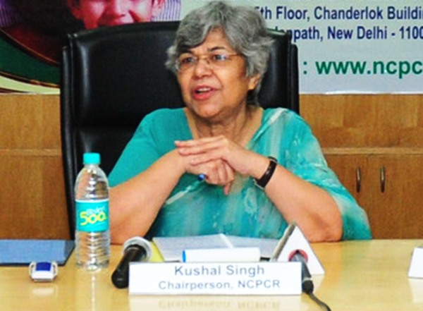 NCPCR chairperson Kushal Singh