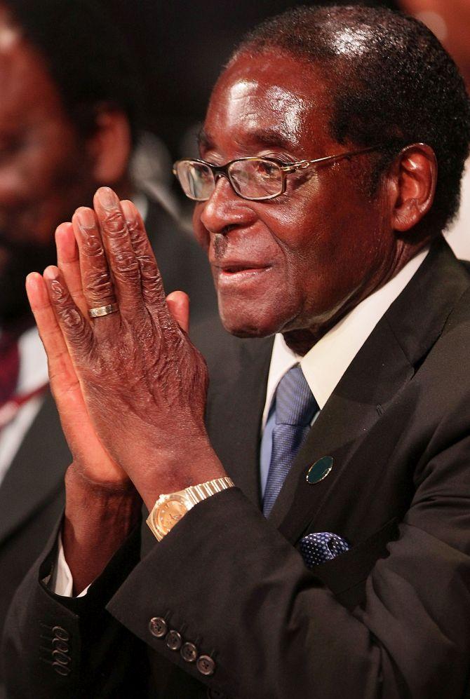 Zimbabwe's Robert Mugabe