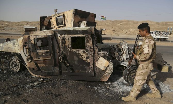 The ISIS militants have taken over major cities in Iraq leaving a trail of destruction in their wake.