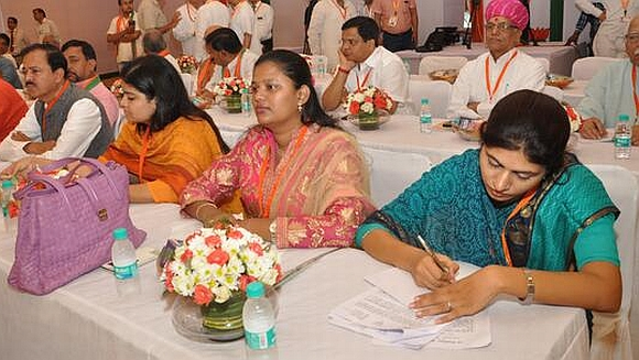 First-time MPs at the orientation camp