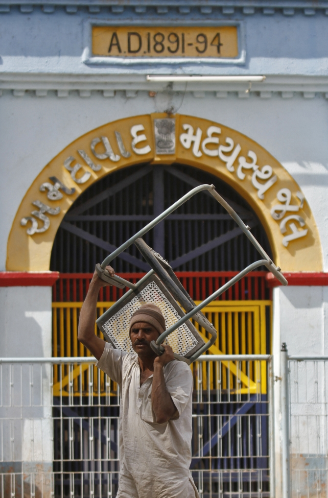 An earlier plan by IM operatives to dig out a tunnel from Sabarmati Jail was busted