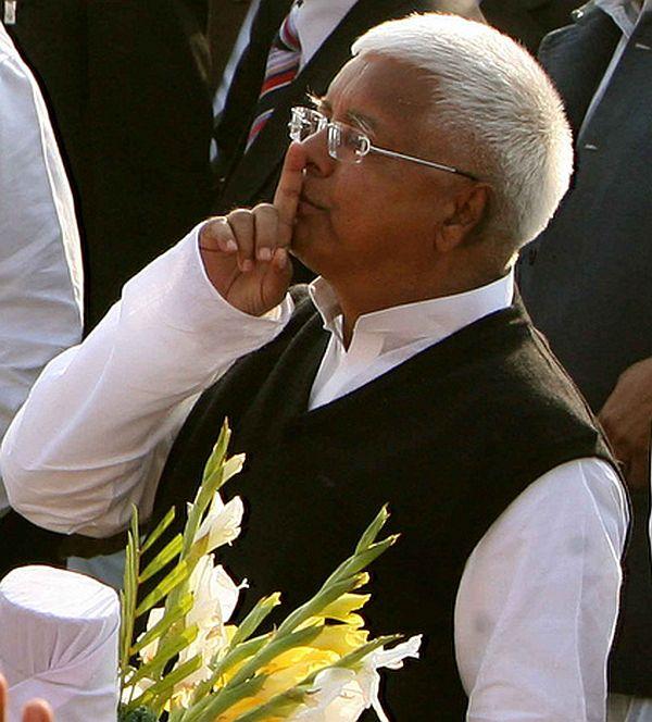 Rashtriya Janata Dal chief Lalu Yadav