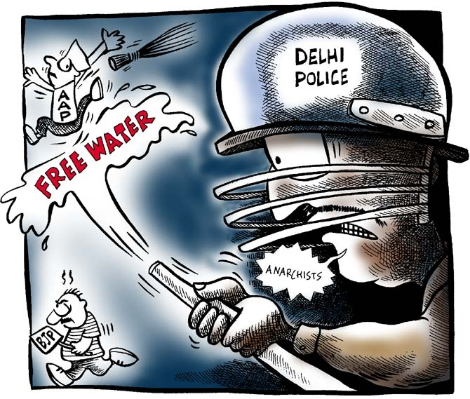 Uttam's Take: When AAP and BJP clashed...