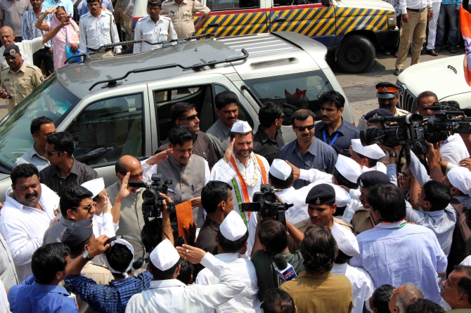 Rahul Gandhi's 'fishy' business in Mumbai