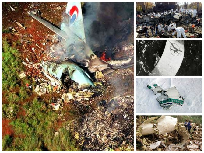 IN PICS: The 30 DEADLIEST air disasters in history