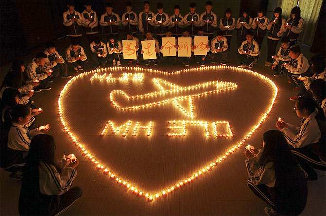Praying for Flight MH370